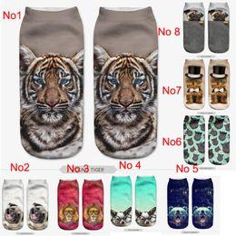 Wholesale 13 Items D Printed Socks Women New Unisex Cute Low Cut Ankle Socks Multiple Colors Women Sock Women s Casual Animal Shape Socks