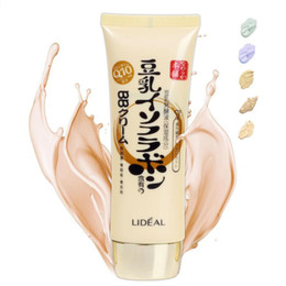 Wholesale Lait de soja BB Crème Maquillage Foundation nude Correcteur Crème pour la peau Hydratant pour le visage Make Up ml