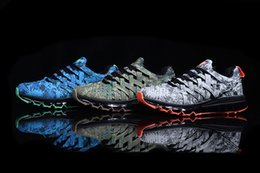 2017 shoes run air max 2016 New maxes Fingertrap colourful blue navy gum Run Men Running Shoes sports Sneakers Trainer air men Shoes high quality size 40-47 discount shoes run air max