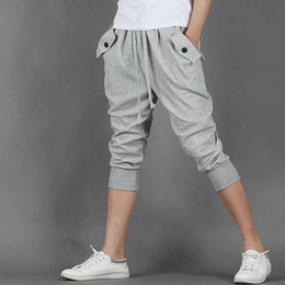 Discount Mens Capri Pants Sale | 2017 Mens Capri Pants Sale on ...