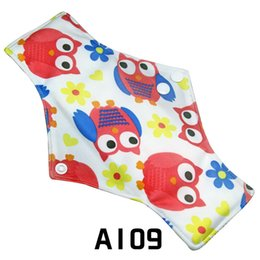 Wholesale Cloth Women pad No Leak Regular Bamboo Reusable Menstrual Sanitary Pads Feminine Hygiene Washable Breathable Napkin Panty Liners