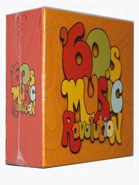 Hotsel! Version 60s Musique Révolution 9CD Musique CD US Brand New Sealed Instock DHL Expédition rapide