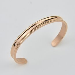 Free Shipping (1pc)New Arrival Fahion Titanium Stainless Steel Cuff Unisex Bangle Gold/Silver/Rose Gold Wholesale and Retail