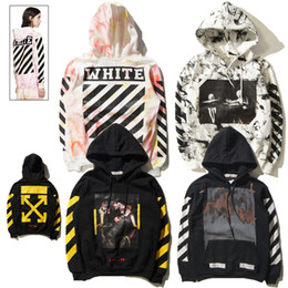 Wholesale OFF WHITE C O Hoodies Men Women Brand Clothing Religious Outerwear Coats Hip Hop Skateboard PALACE VLONE Male Hooded Sweatshirts