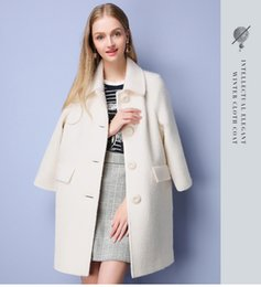 Discount Ladies Long White Wool Coat | 2017 Ladies Long White Wool