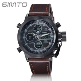 mens digital watch leather band online mens digital watch 2017classic mens quartz digital watches multifunction non mechanical leather nylon band wrist watch father valentine gift
