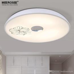 wholesale led ceiling light white acrylic flush mounted lamp round lighting living room bedroom kitchen lights fitting lustre flush ceiling light fittings