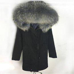 Discount Raccoon Fur Parka Coats For Women | 2017 Raccoon Fur