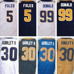Men's Los Angeles Rams Nick Fairley Pro Line Navy Team Color Jersey