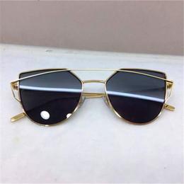 Discount woman uv sunglasses Colorful Cat Eye Sunglasses Full Frame Gradient Womens UV Protection Sunglasses Fashion Accessories Beach Street Glasses