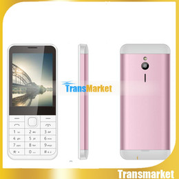 Discount chinese phone screens Free DHL Cheap GSM Cell Phone with English 2.inch Screen 230 S500 GSM 900 1800 1900MHz FM Unlocked Phone 100% Cheap Hot sale phone for elder