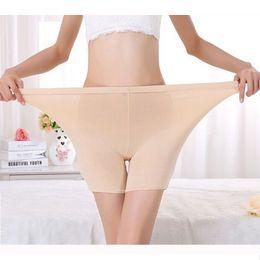 Wholesale LG009 cómoda más tamaño de las señoras de bambú boxeador pantalones cortos de verano ligero pantalones vaqueros Boyshort ropa interior para las mujeres pulgadas