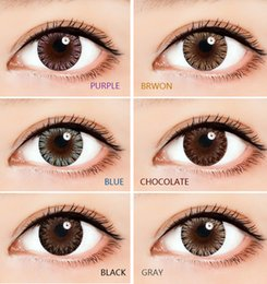 Wholesale 1pair Amazing new colors contact lenses colors color contact lenses DHL shipping Recognized cosmetic contact lenses