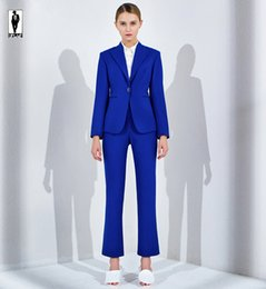 Royal Blue Pants Suit Women Online | Royal Blue Pants Suit Women ...