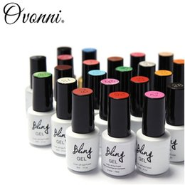 Wholesale Bling Charming Women Sweet Girl Color Long Lasting Manicure Soak off lacquer Nail Glue Nail Polish finger ink