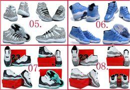 High Quality Air Retro XI Space Jams Legend Blue Gamma Blue Men s Basketball Sneakers Shoes Original Quality Trainers Sh online
