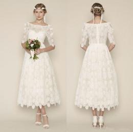 Discount Vintage Inspired Tea Length Dresses  2017 Vintage ...