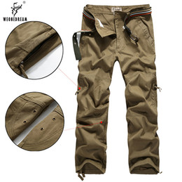 Discount Cotton Mens Bootcut Cargo Pants | 2017 Cotton Mens ...