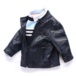 Discount Boys Faux Leather Jacket Black | 2017 Boys Faux Leather ...