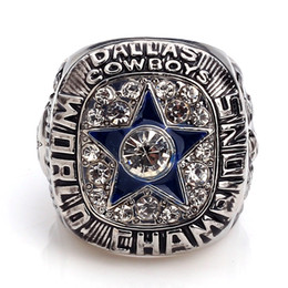 NFL Dallas Cowboys World Champions Silver Ring_1