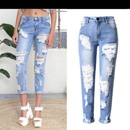 Boyfriend Jeans Holes Online | Boyfriend Jeans Holes for Sale