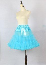 Wholesale Mulity Color Cheap Bridal Petticoats See Through Girl Slips Skirt Elastic Tutu Short Dress Wedding Accessories A Line Bustles Crinoline