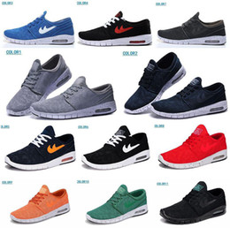online shopping Hot selling SB Stefan Janoski Maxs MEN S Running Sport Shoes Size US7 US11 High quality Summer breathable air cushion sneaker for men