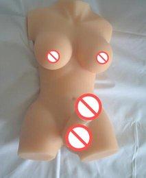 Wholesale 7KG big dildo shemale brinquedos gay bonecas sexuais para mulheres Realistic Silicone mini amor boneca com peito grande Penis lésbicas sexo torso bonecas