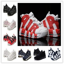 New Air More Uptempo girlsnike Pippen Tranning Shoes Pippen Retro ladies Basketball Shoes Cheap Max Olympic USA Women Outdoor Sneakers online