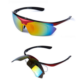 glass lens sunglasses polarized y6an  Polarized 5 Lens Sunglasses for Men Women, Moto Cycl Goggles, Hunting  Shooting Sports Glasses with Myopia Frame