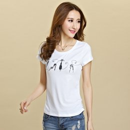 Wholesale plus size women t shirts plus size summer tops short sleeve crew neck beads print floral blouse cotton casual woman xxl