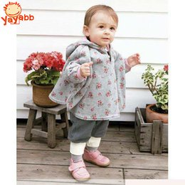 Wholesale New Hot Autumn Winter Baby Outerwear Child Coat Girl Coverall Fashion Infant Boy Coats Two Sides Wearing Children s Cloak