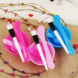 Wholesale Professional face mask DIY tools include meter bowl brush stick makeup tools used for making face mask