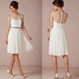 Short White Reception Dresses For Brides Suppliers  Best Short ...