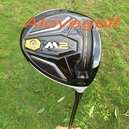 2016 Nuevo controlador de golf 460cc conductor M2 9.5 o 10.5 grados con TM1-216 varilla de grafito palos de golf de alta calidad
