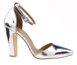 Discount Silver Block Heel | 2017 Silver Block Heel on Sale at ...