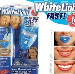 Wholesale 20pcs Dental Personal Oral Hygiene Care White Light Whitelight Teeth Whitener Easy To White Your Teeth Whitening bental bleaching lamp