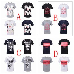 Discount wholesale shirts for summer 16 Color Summer Men T-shirt short Sleeve 100% Cotton Sport t shirts for men Plus Size Clothing High Quality Street Clothes by dhl