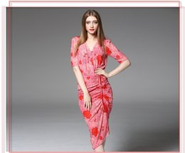 Wholesale Sexy Dresses French Romance Cultivate one s Morality Dresse Sheath Casual Dresses Top luxury Design Women s Clothing Prom Party Dresses