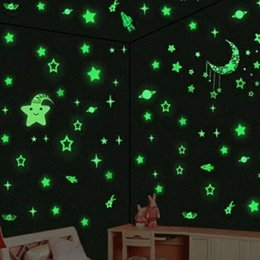 por kids wall lights lots. home decor 1000pcs lot wall ceiling glow in the dark stars stickers decal baby kids bedroom hot sale por lights lots