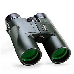 Verde militar USCAMEL HD 10x42 Prismáticos Profesional caza del telescopio del zumbido de la alta calidad de la visión infrarroja Sin Ejército Ocular