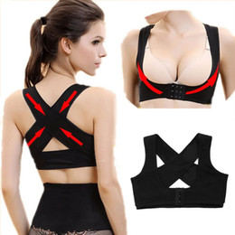 Wholesale New Women Adjustable Back Support Belt Posture Corrector Brace and Support Posture Shoulder Corrector for Health Care