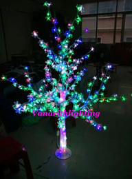 Charming 2017 Colored Patio Lights LED Cherry Blossom Crystal Tree Light Multi  Colored 5ft480LED Xmas Wedding