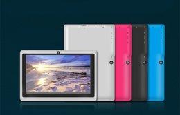 Tablet PC de Windows 8iRulu Q88 7 pouces Tablet PC Android Tablet PC 8GB A33 Quad Core 8GB 7