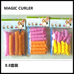 2016 Amazing Magic Leverag Hair Curlers Curlformers Hair Roller Hair Styling 40cm long Tools DHL Free