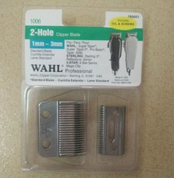 Wholesale Wahl Super Taper Blades Set Top And Bottom Professional Hole Precision Clipper Blade
