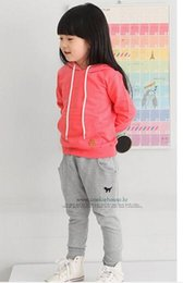 Wholesale new Korean version of spring and autumn children s clothing children s casual harem pants puppy embroidery long pants