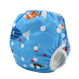 Wholesale Couches de tissu Alva Baby Swim Couche culotte lavable réutilisable une taille respirante couvrir les troncs de natation étanche imperméable respirant est aj