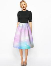 Black Flared Midi Skirt Online | Black Flared Midi Skirt for Sale