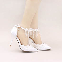 Discount Designer Wedding Shoes Pumps   2017 Designer Wedding ...
